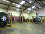 A workshop showing a B2 General industrial use within an industrial unit
