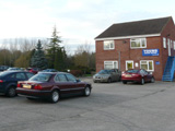 Young Estates office with parking in a secure industrial estate